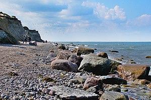 Fischland-Darß-Zingst - Image: Steilküste