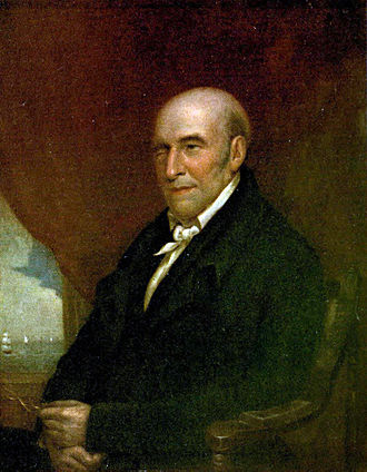 Stephen Girard - Girard in 1832 (oil portrait by James Lambdin)