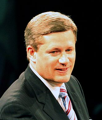 2004 Conservative Party of Canada leadership election - Image: Stephen Harper head