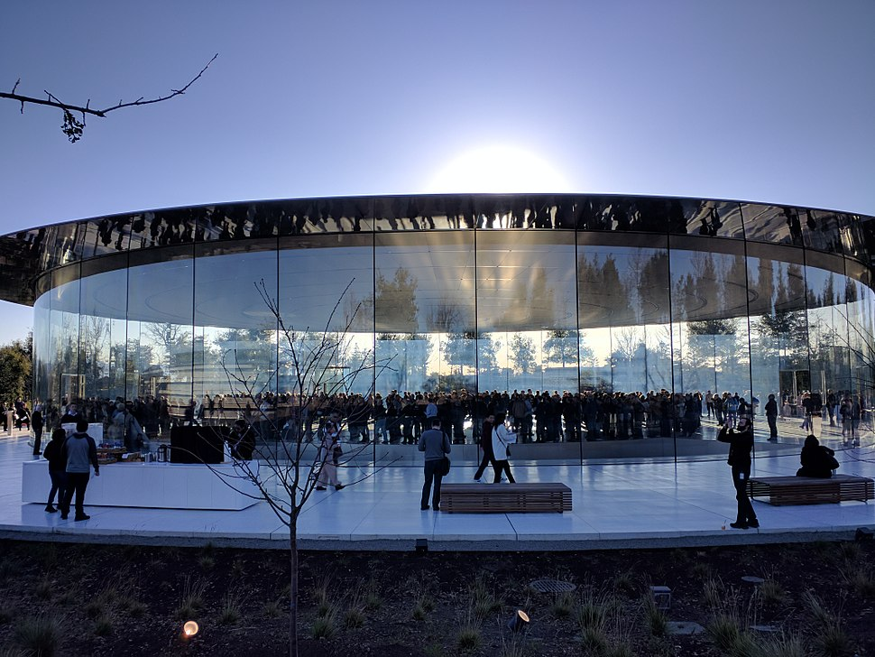 Steve Jobs Theater - external