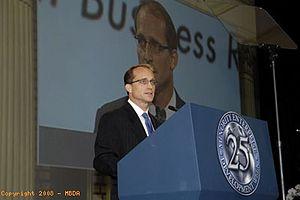 Steve Preston - SBA Administrator Preston addresses Minority Enterprise Development Week Conference