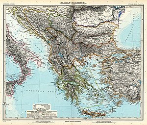 Balkan peninsula. Overview