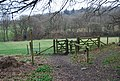 Stile and Kissing Gate at the footpath junction - geograph.org.uk - 1203102.jpg