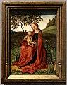 Stile di martin schongauer, madonna col bambino in un giardino, 1469-91.jpg