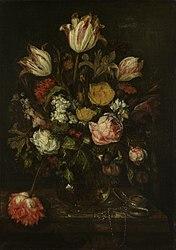 Abraham van Beijeren: Still life with flowers