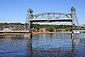 Stillwater Bridge with lift span raised (2013).jpg