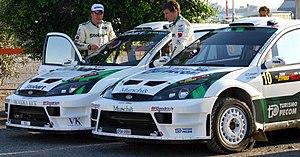 M-Sport World Rally Team - Image: Stobart VK M Sport Ford