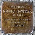 Stolperstein Ahornallee 10 (Westend) Hertha Lewinnek.jpg