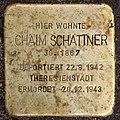 Stolperstein Bamberger Str 3 (Wilmd) Chaim Schattner.jpg