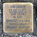 Stolperstein Brunnenstr 41 (Mitte) Else Luft.jpg