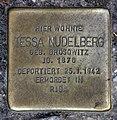 Stolperstein Florastr 42 (Panko) Tessa Nudelberg.jpg