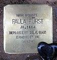 Stolperstein Kaiserdamm 101 (Charl) Paula Fürst.jpg