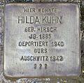 Stolperstein Karlsruhe Hilda Kuhn.jpg