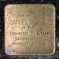 Stolperstein Lottumstr 23 (Prenz) Samuel Parnes.jpg