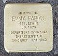 Stolperstein Motzstr 82 (Wilmd) Emma Fabian.jpg
