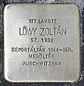 Stolperstein für Zoltan Löwy (Miskolc).jpg