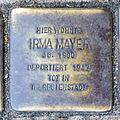 Stumbling block for Irma Mayer (Agrippastraße / Kämmergasse)