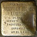Stumbling block for Heinrich Joshua Levison (Jahnstraße 20)