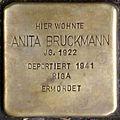 Stolpersteine Krefeld, Anita Bruckmann (Südwall 34).jpg