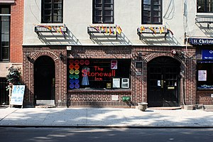 The Stonewall Inn, Christopher Street in Green...