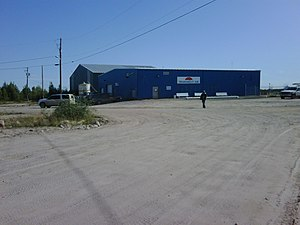 Transwest Air - Transwest Air Terminal at Stony Rapids Airport