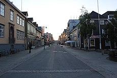 Storgata Tromsø Midnight sun.jpg