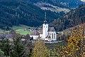 Strassburg Lieding Pfarrkirche hl Margaretha mit Friedhof 21102018 6307.jpg