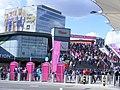 Stratford shopping & olympic games crowds (7721507868).jpg