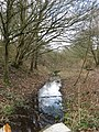 Stream flowing along disused railway track - geograph.org.uk - 1773332.jpg