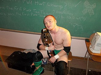 Pro Wrestling eXpress - Stryder is the current PWX Three Rivers Champion