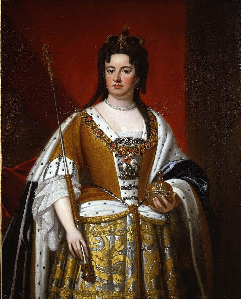 Studio of Kneller - Portrait of Queen Anne.jpg