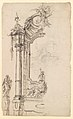 Study for an Altar with a Figure on a Raised Socle at Left; verso- Study for an Altar with a Figure of an Angel or Saint MET DP229512.jpg