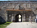 Sułoszowa, brama z 5 bastionami.JPG