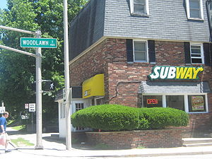 Jared Fogle - The Bloomington Subway restaurant that Fogle habitually visited