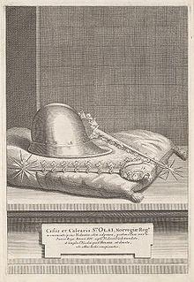 Helmet and spurs of Saint Olaf