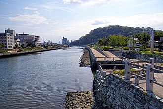 Suketō River - The Suketō River, one of the rivers running through the center of Tokushima City.