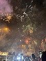 Sulaymaniyah, Iraqi Kurdistan New Year Eve Fireworks 2021.jpg