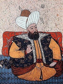 Sultan Murad II, portrait from 19th century manuscript.jpg