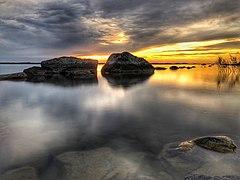 Sunset in Surö Bokskog 2.jpg
