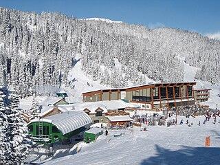 Banff Sunshine Ski resort in Alberta, Canada