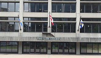 Nova Scotia Supreme Court - Supreme Court of Nova Scotia, Halifax, Nova Scotia