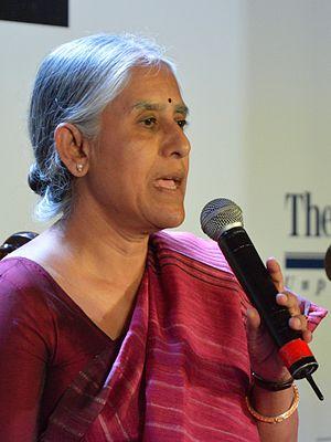 Supriya Chaudhuri - Supriya Chaudhuri at the Kolkata Literary Meet 2013.