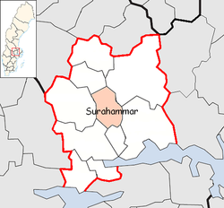 Surahammar Municipality in Västmanland County2.png