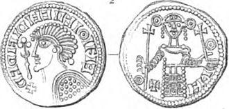 Sweyn II of Denmark - Coin of Sweyn Estridsson