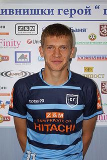 Svetoslav Dikov Bulgarian professional footballer