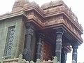 Swami Vivekananda memorial on vivekananda rocks ,Kanyakumari.jpg