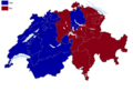 Swiss Schengen and Dublin treaty referendum results by canton, 2005.png