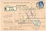 Switzerland 1922-10-25 COD R-cover Wädenswil.jpg