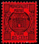 Switzerland Moutier 1915 revenue 1 20c - 3.jpg