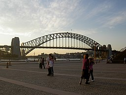 Sydney Harbour Bridge from the Sydney Opera House